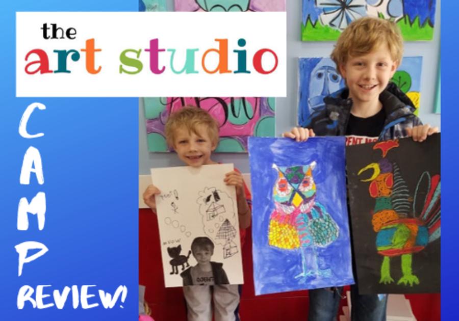 The Mac Kids go to art camp at The Art Studio, now located in Montevallo, Alabama, near Birmingham