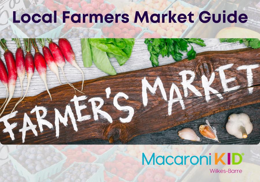 Local Farmers Market Guide