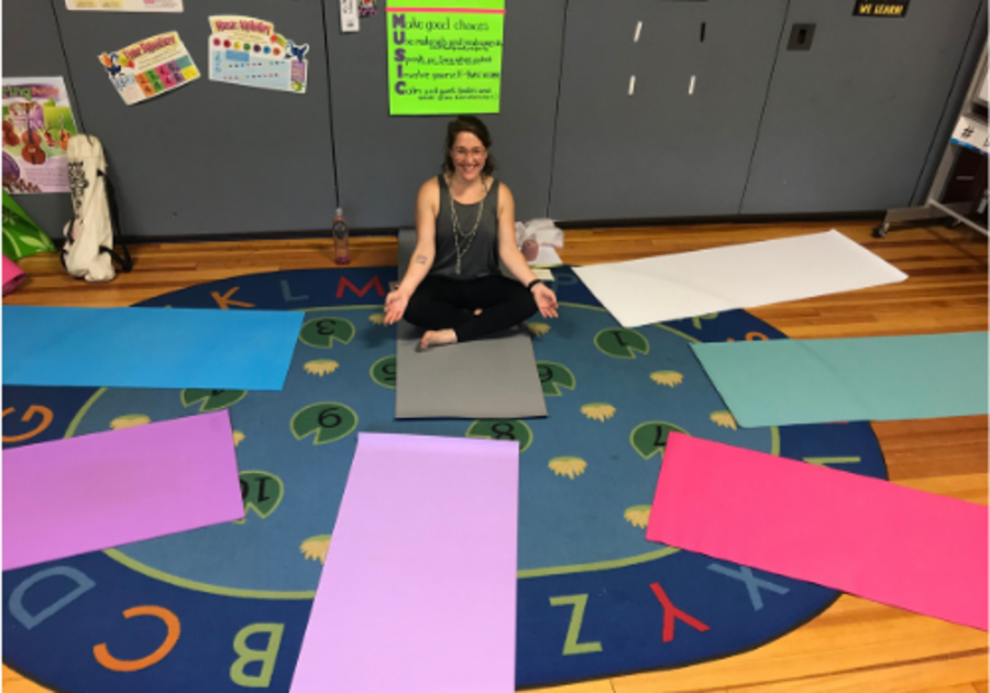 Kids Yoga at Sing Explore Create in Rockland, MA