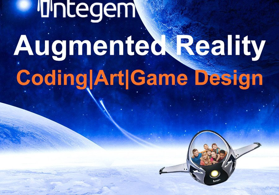 Augmented Reality Coding and Art Camp by Integem