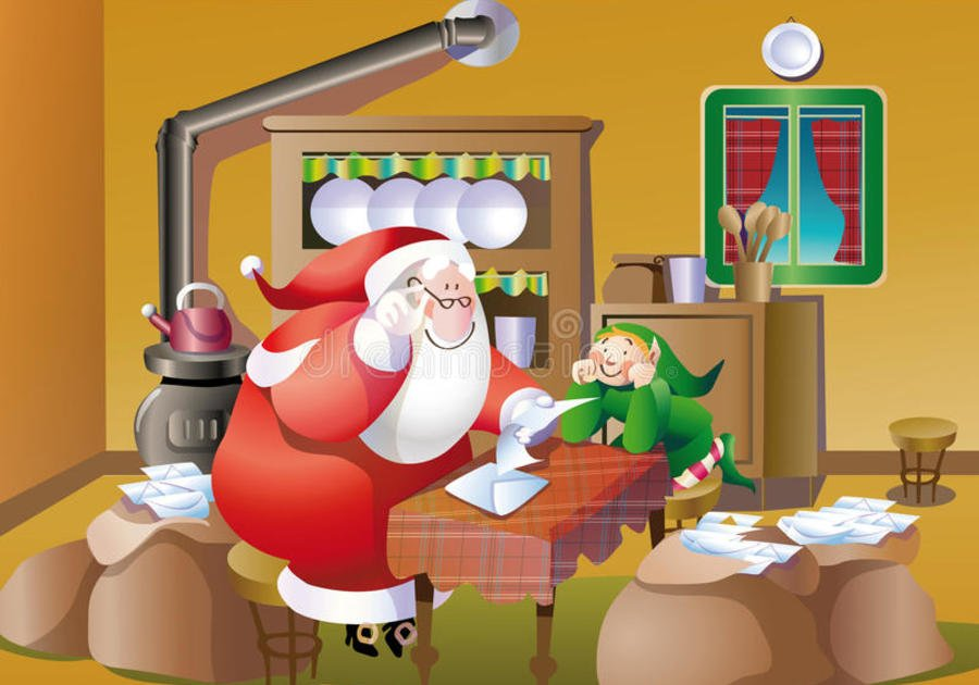 Letter to Santa Clause North Pole