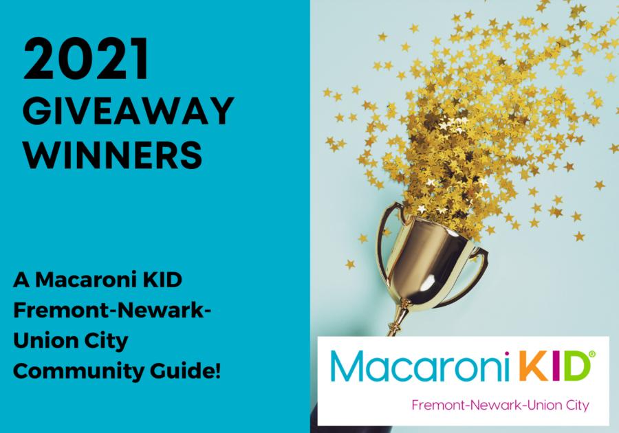Macaroni Kid Fremont Winners 2021