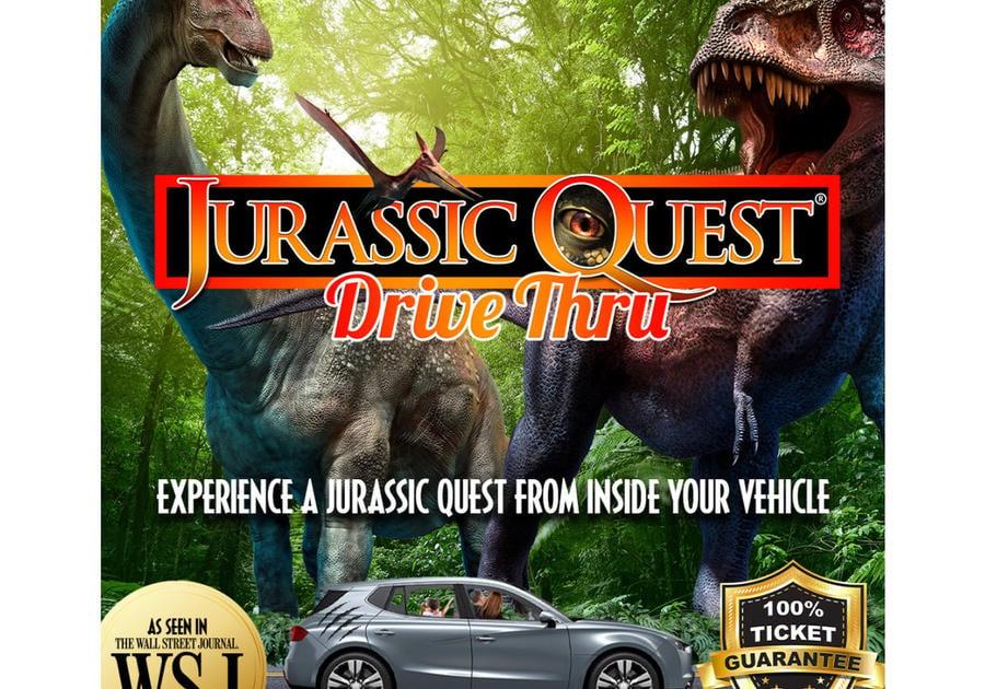 Save 25% off Jurassic Quest in Birminham