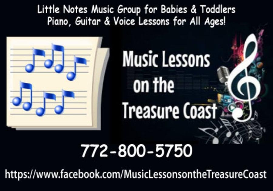 Music Lessons on the Treasure Coast