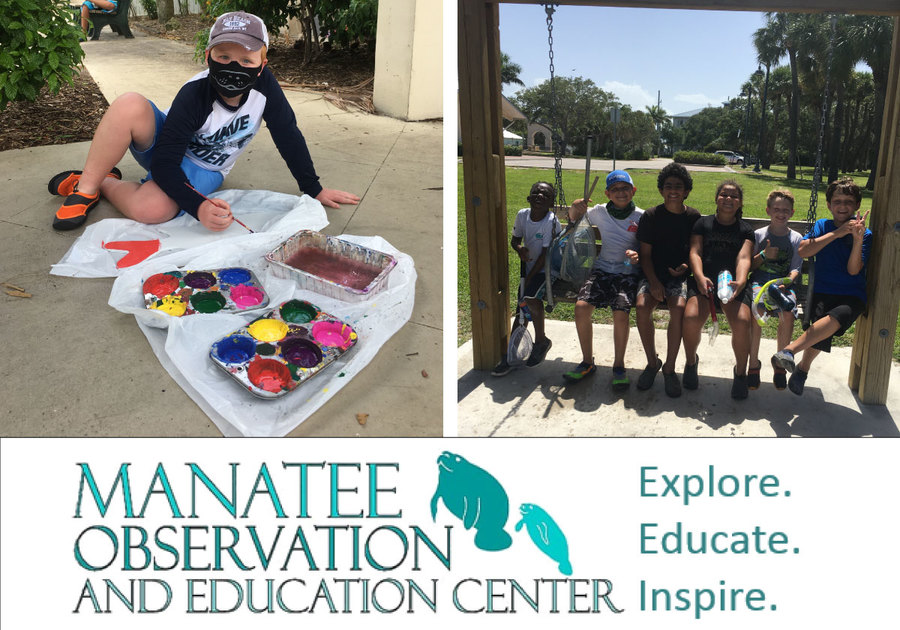 Manatee Center Summer Campers