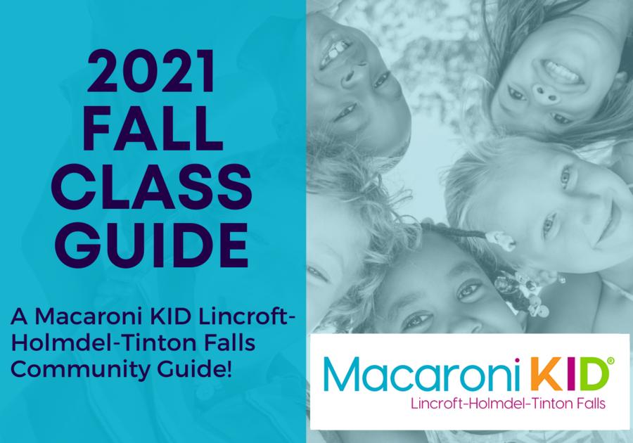 2021 Fall Class Guide Macaroni Kid