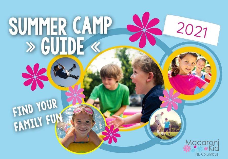 NE Columbus Macaroni Kid Summer Camp Guide for 2021