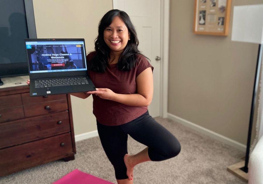 Enjoy a 30 day free trial of Bulldog Online Yoga