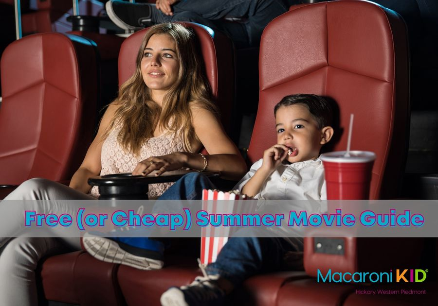 Free or Cheap summer movies