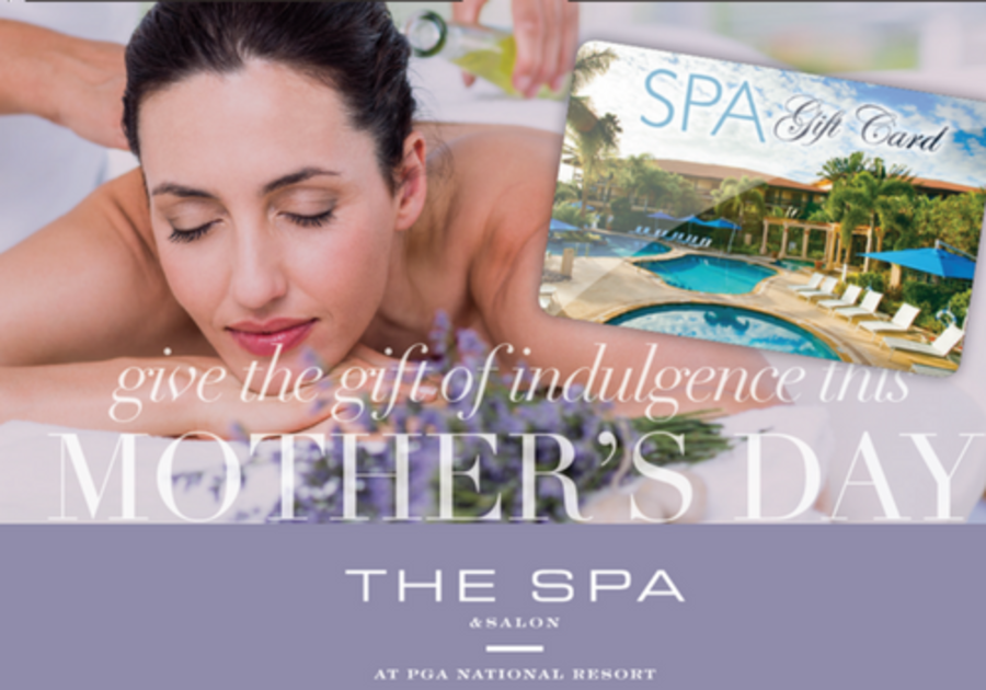 The Spa at PGA National Mom's Day Giveaway