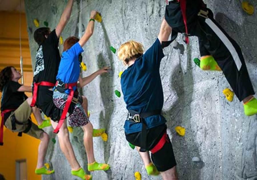 Rockin' Jump Rock Wall Roseville CA