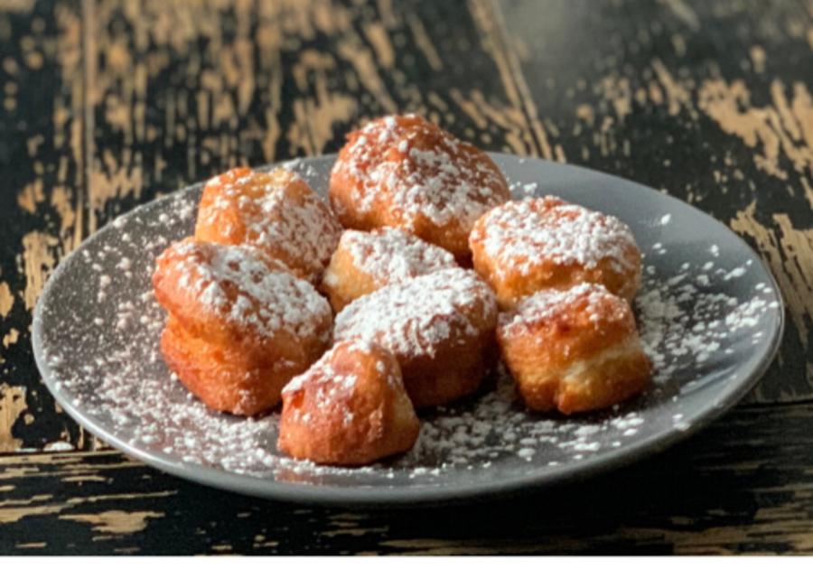 2 ingredient donut hole recipe