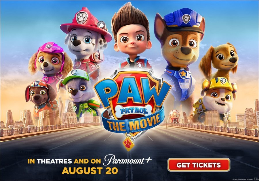 PAW Patrol released Aug. 20