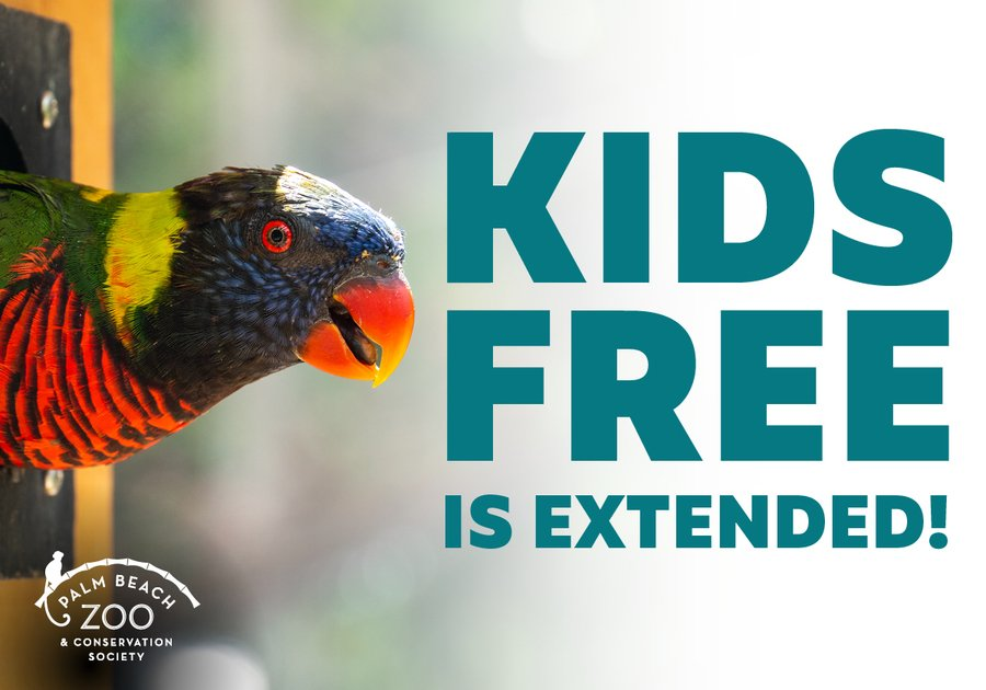 Kids Rule the Jungle at Palm Beach Zoo in September with FREE Admission!