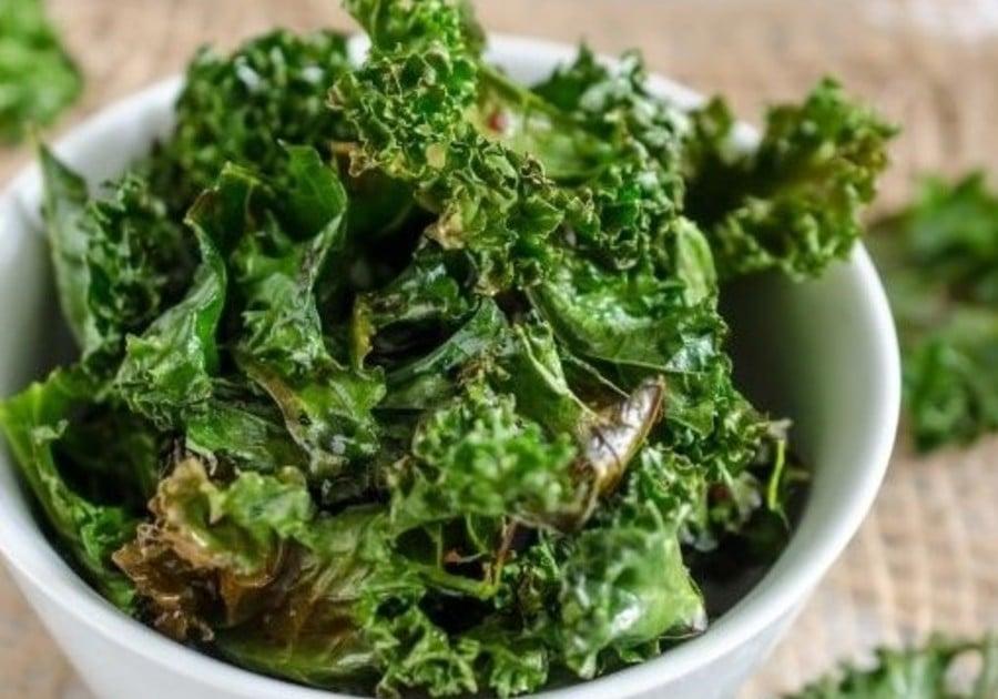 5 Ingredients Kale Chips