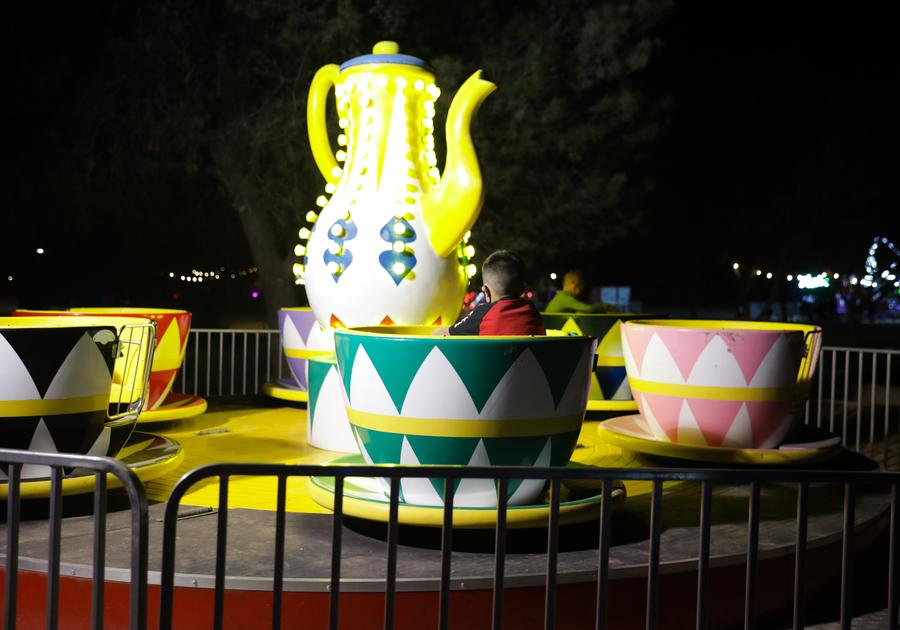 Tea Cup Ride at Schnepf Farms