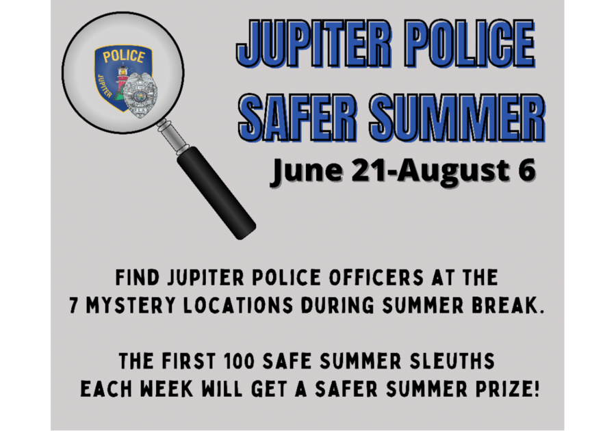 Jupiter Police Safer Summer Event