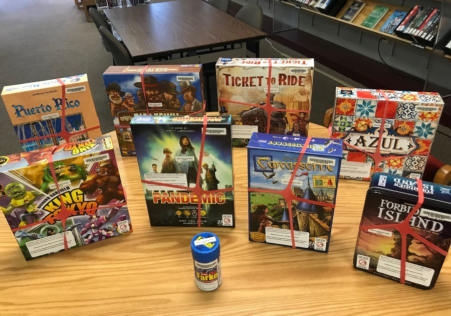 Board games are now available for checkout at the Eastwood Branch of Birmingham Public Library