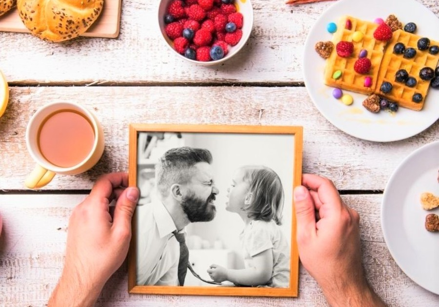 Father's Day Photo Coasters