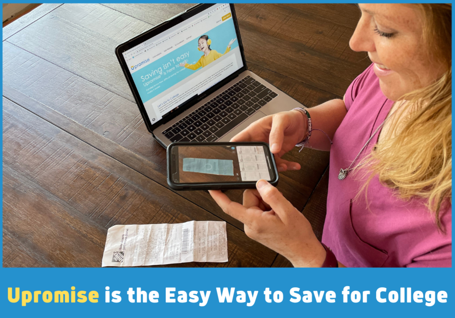 Upromise is the easy way to save for college