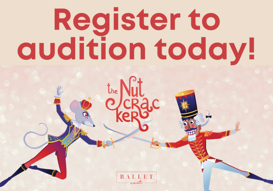 Audition for The Nutcracker presented by Ballet East!