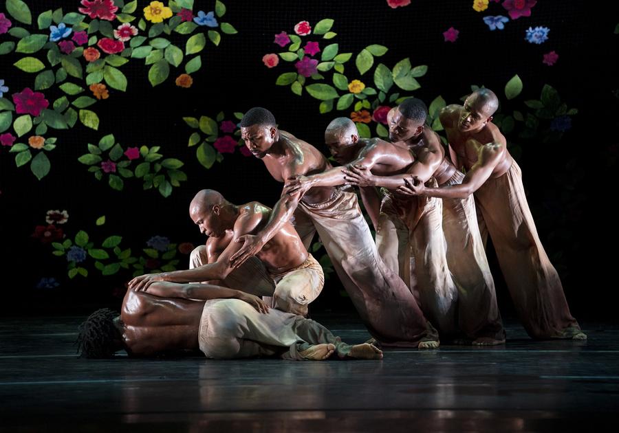 Alvin Ailey American Dance Theater in Jamar Roberts' Ode.