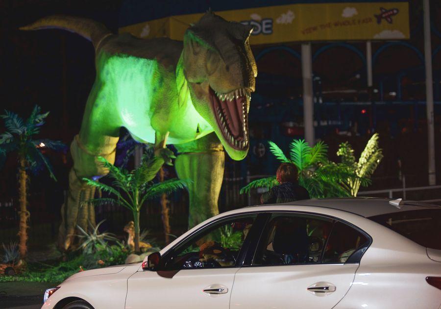 Drive-Thru Dinosaur Adventure at South Florida Fairgrounds