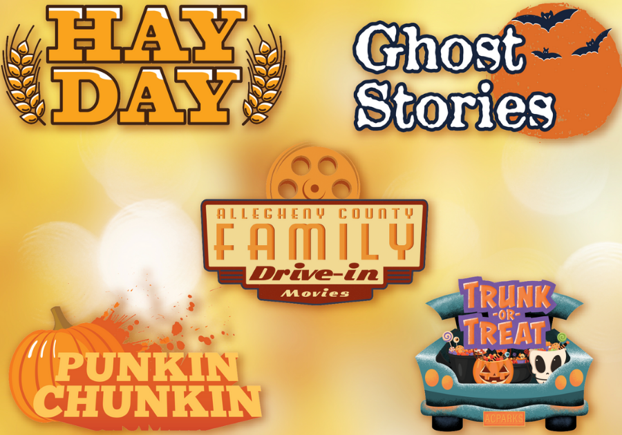 Allegheny County Fall Events Hay Day, Ghost Stories, Punkin Chunkin, Trunk or Treat