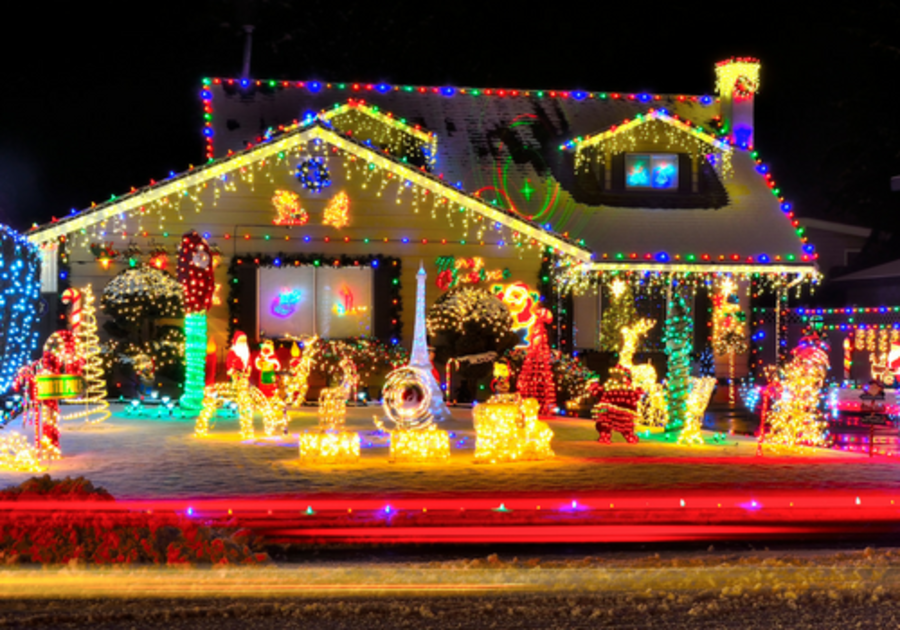 Holiday Lights in Harrisburg and West Shore