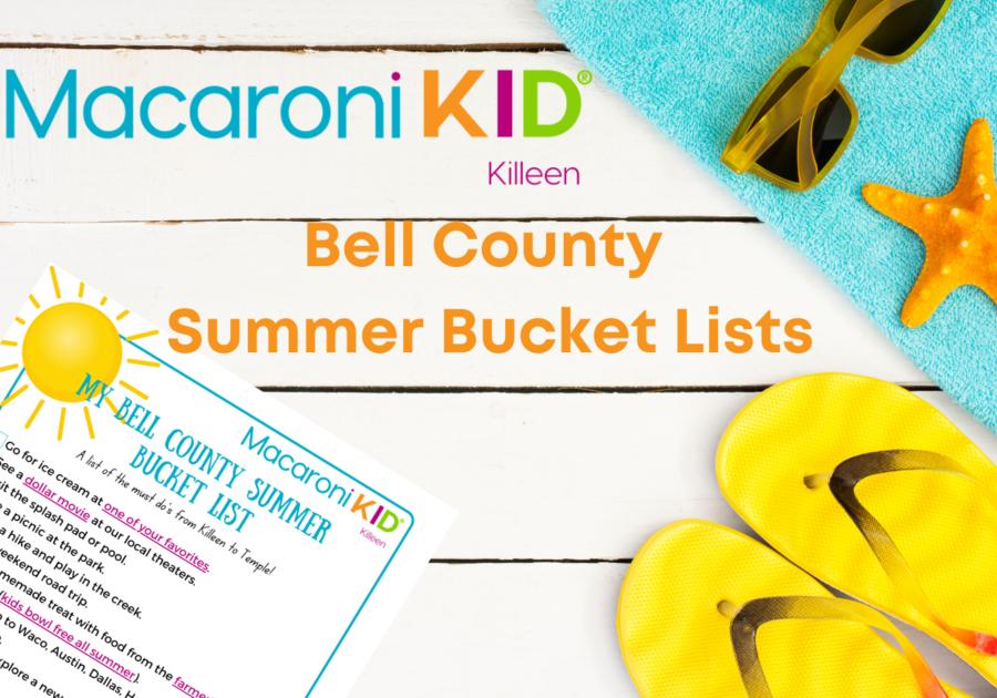 flip flops, sunglasses, a printable bucket list