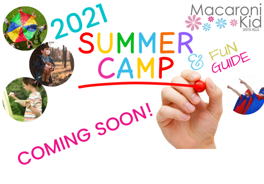 2021 Summer Camp & Fun Guide for families in the South Hills of Pittsburgh area