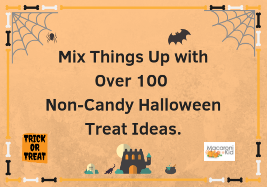 Mix  Things Up With Over 100 Non-Candy Treat Ideas