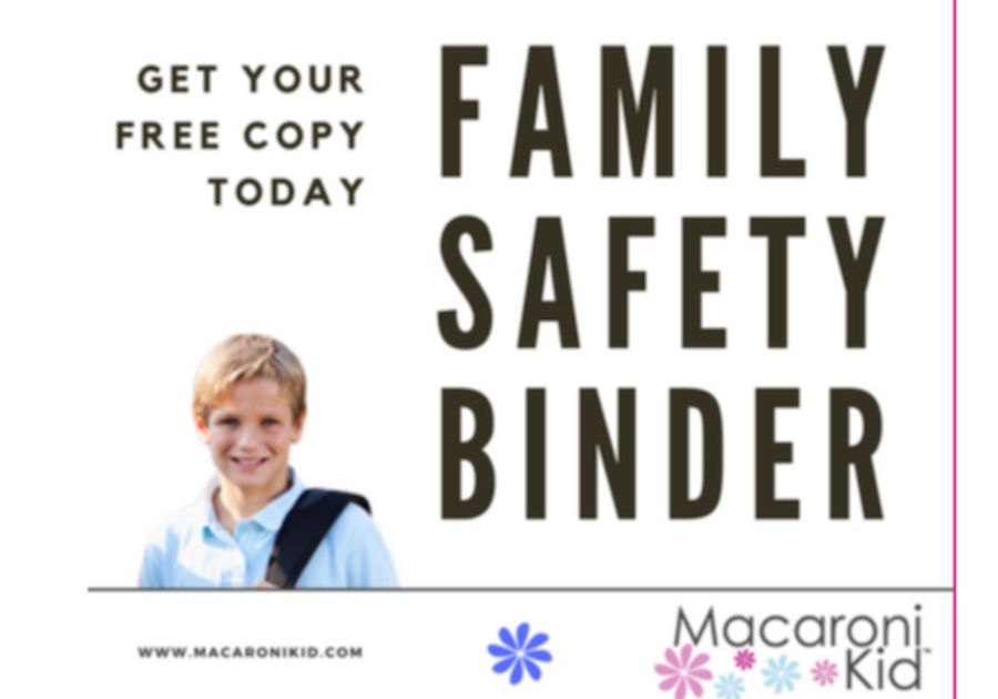 family safety binder