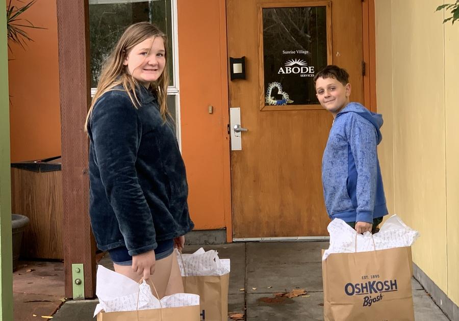 OshKosh charitable giving