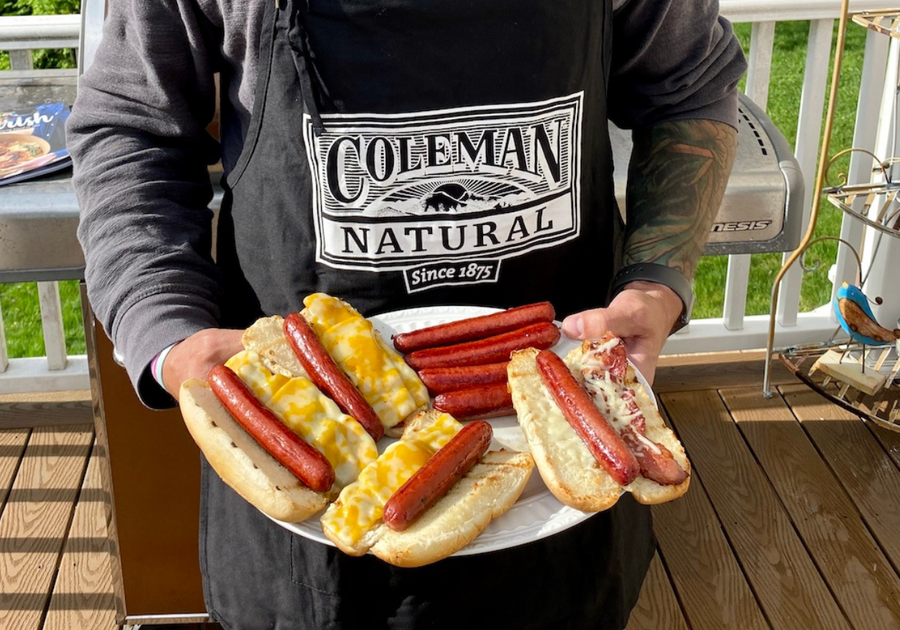 Easy Dinner with Coleman Hot Dogs