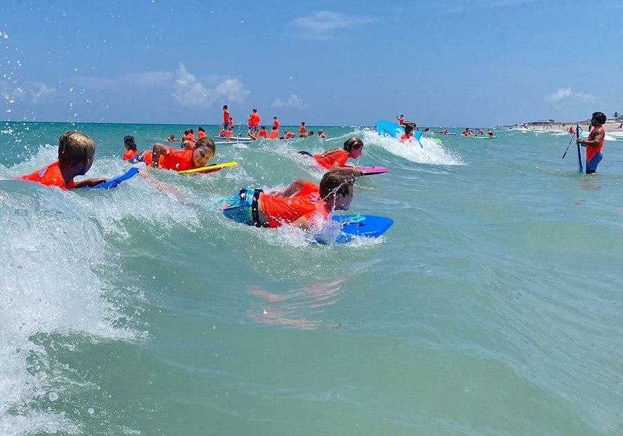 Cowabunga Surf Camp 2020 campers