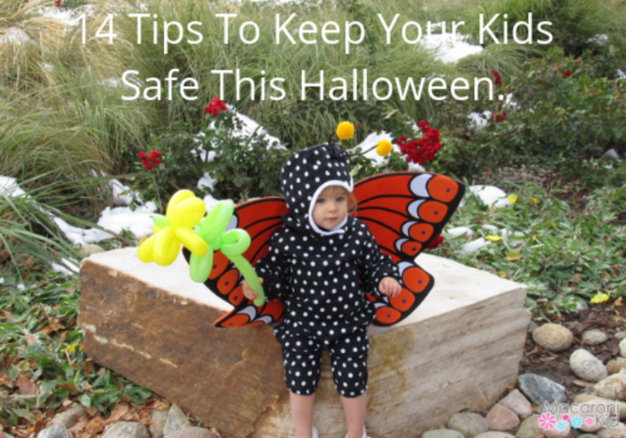 14 Tips To Keep Your Kids Safe This Halloween