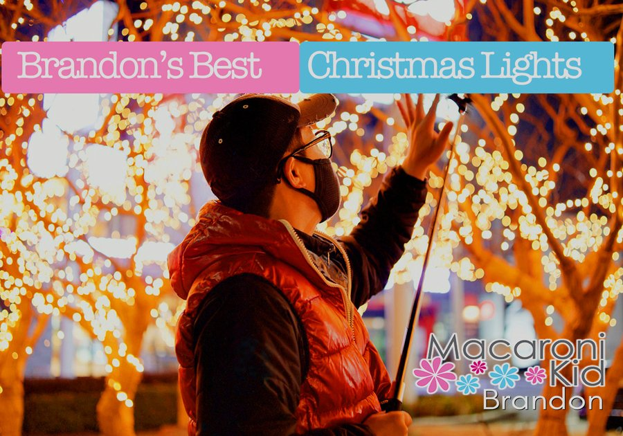 A listing of the Best Christmas lights in Brandon