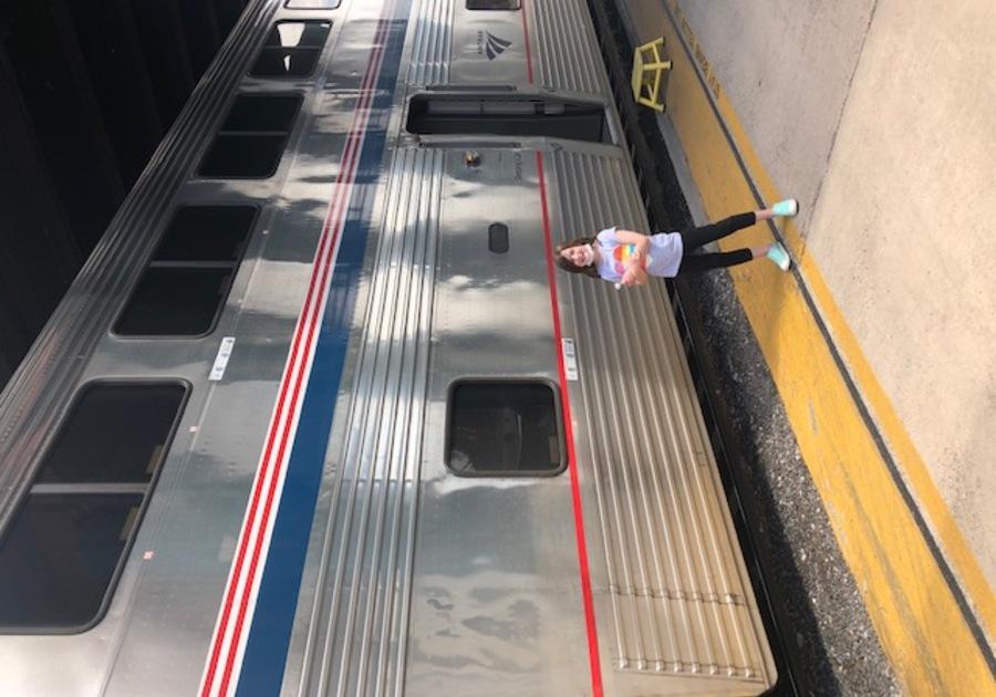 Amtrak family trip