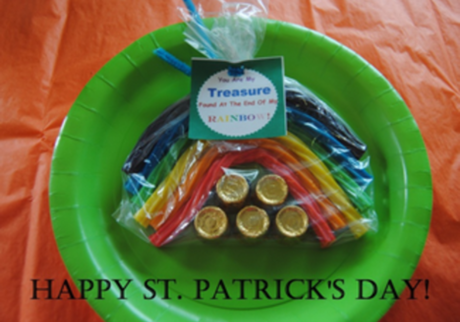 St. Patty's Rainbow Treasure Treats