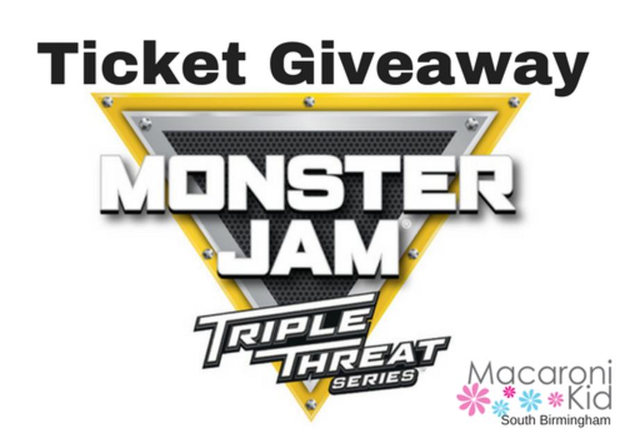 Ticket giveaway to see Monster Jam in Birmingham