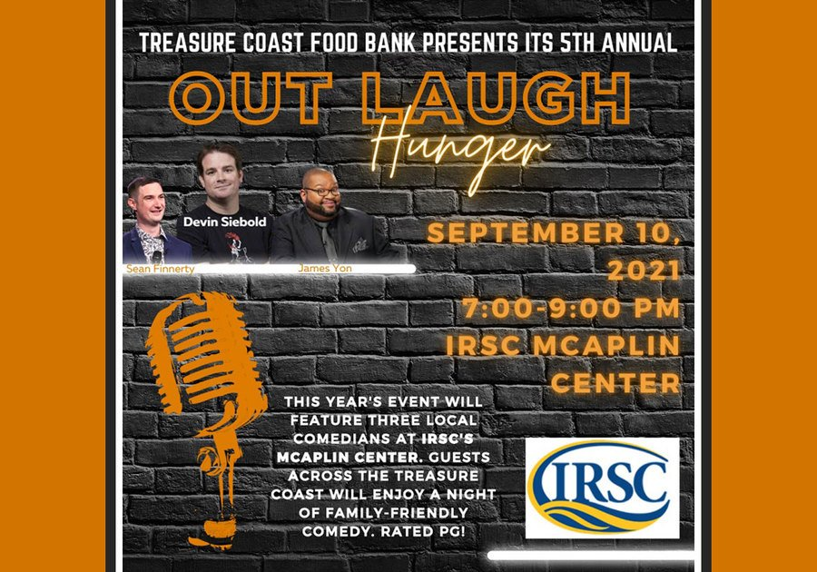 Treasure Coast Food Bank 2021 Hunger Action Month Out Laugh Hunger