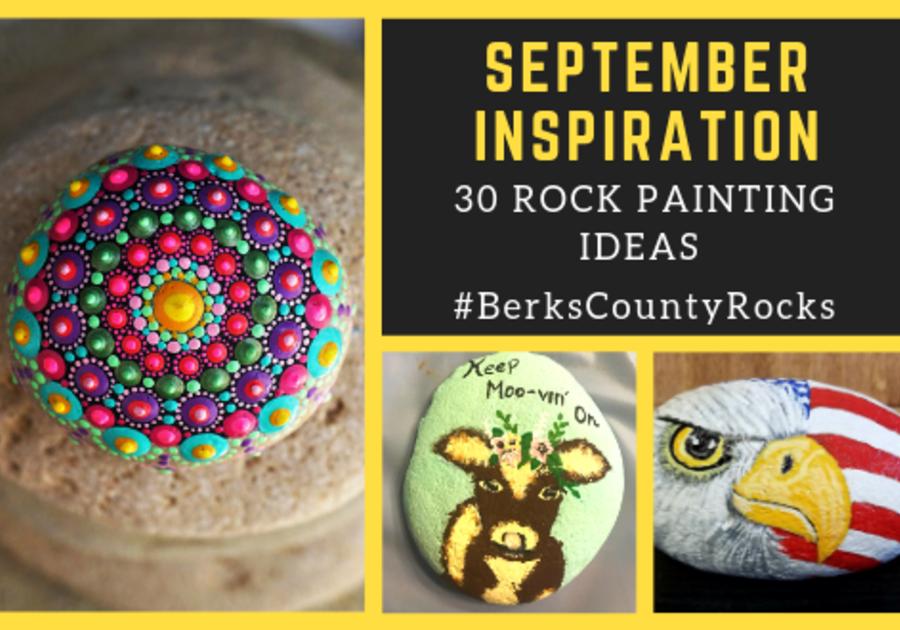 September Rock Painting Challenge Macaroni Kid Reading