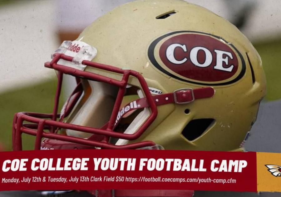 Coe Football Kids Camp Cedar Rapids