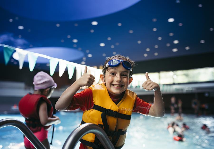 Cranbrook Schools Summer Camp swimming