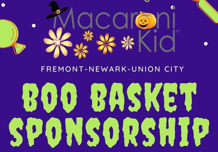 Boo Basket Sponsorship