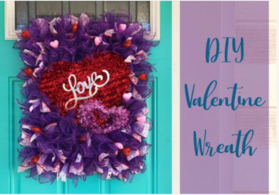 Valentine Wreath DIY