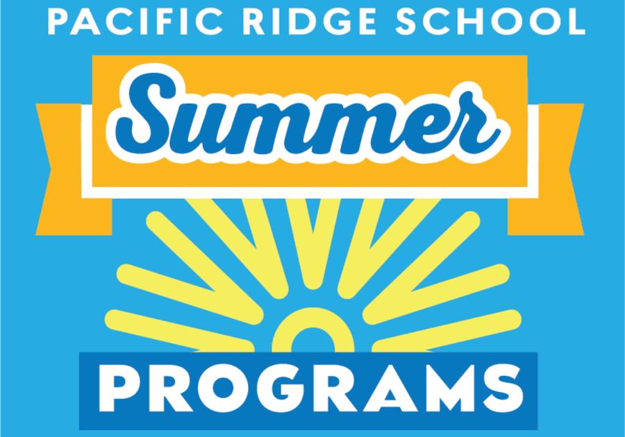 Sunshine rays text description Pacific Ridge School Summer Programs