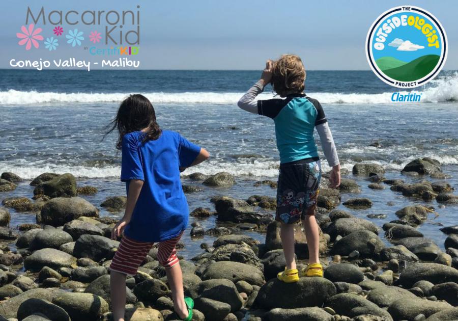Outsideologist by Claritin boys exploring Malibu Lagoon