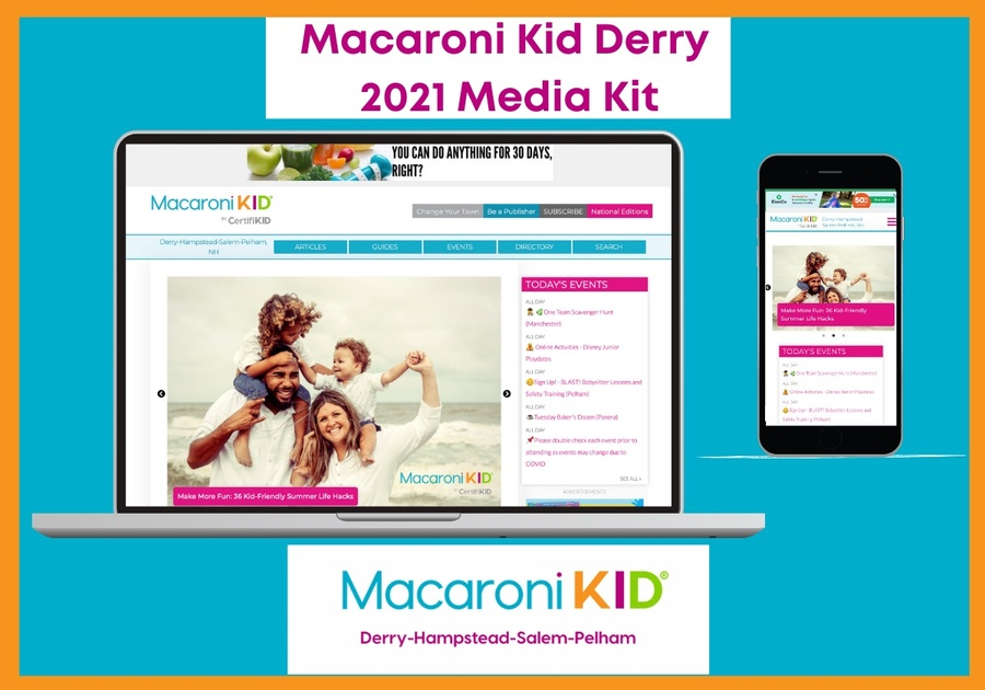 Macaroni Kid Derry 2021 Media Kit